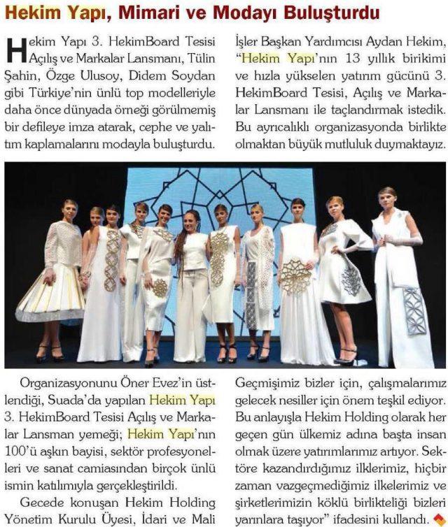 Çatı Cephe Magazine