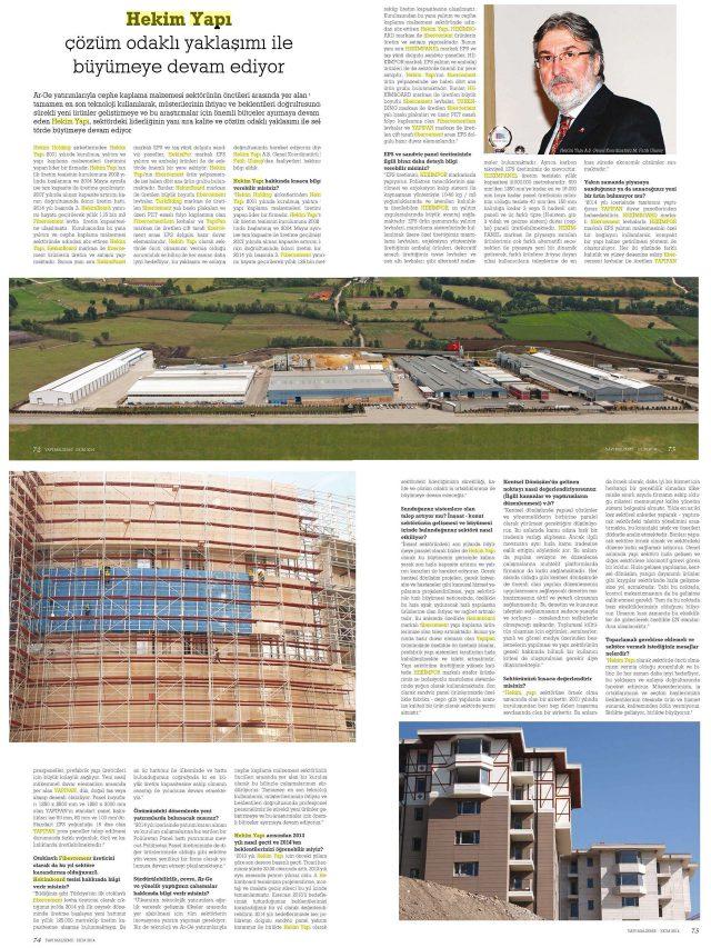 Yapı Magazin Magazine
