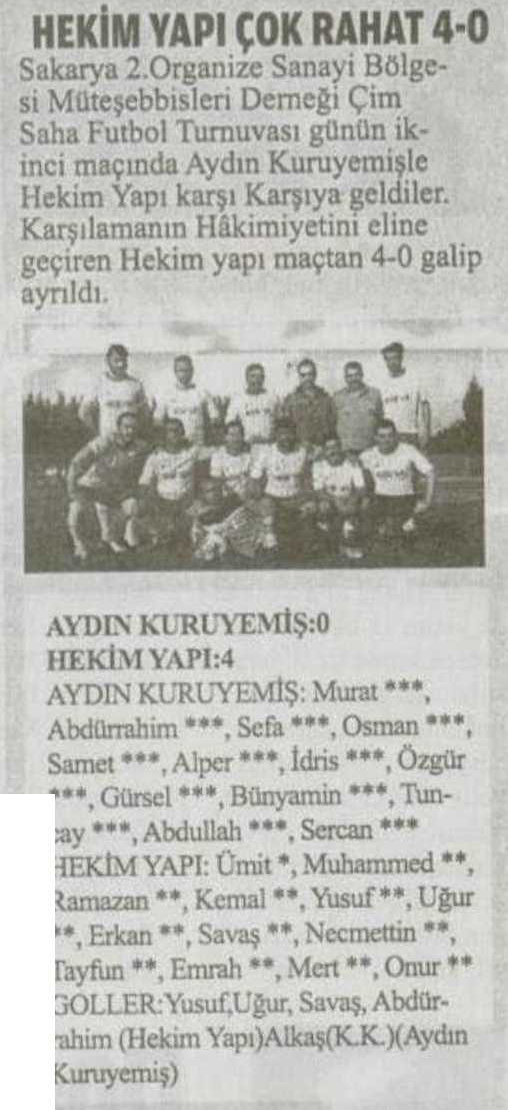 Bizim Sakarya Journal