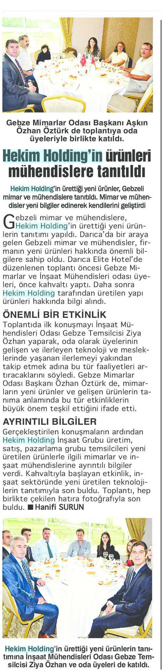 Bizim Kocaeli Journal