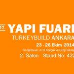 Hekim Yapı A.Ş. a pris sa place au 27. salon de bâtiment et de construction à Ankara