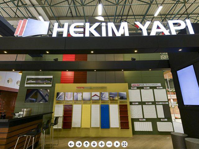 Stand pour la foire 2014 İstanbul Yapı