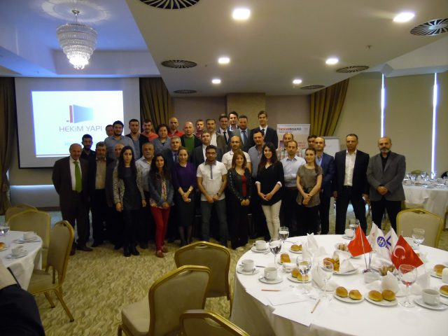 Séminaires de présentation de Hekim Yapı