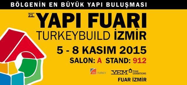 Nous sommes au salon de bâtiment et de construction à İzmir