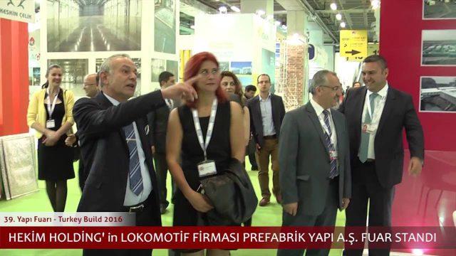 La visite de monsieur et Dr. Öner Hekim au salon d'exposition de construction 2016