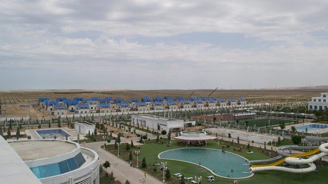 Prefabrik Yapı A.Ş. a réalisé la construction préliminaire de 48 villas en construction métallique en acier léger au Turkménistan
