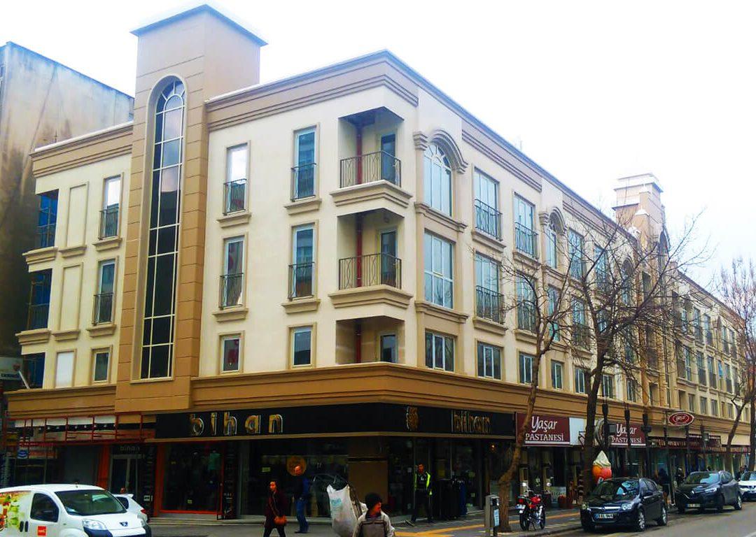 Projet d'Hôtel