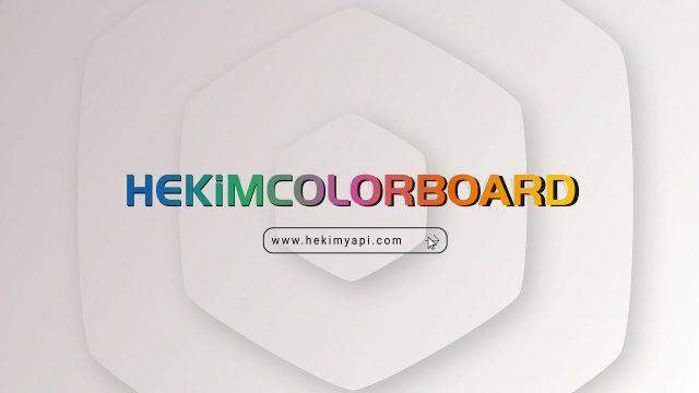 HekimColorBoard | Le premier fibecement auto couleur de la Turquie