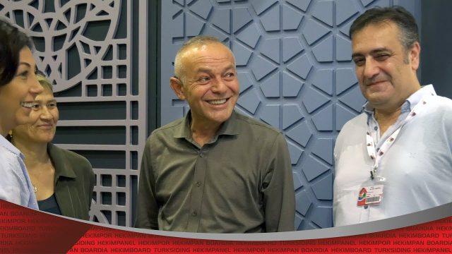 Öner Hekim a visité le 42ème salon d'exposition de construction | Hekim Yapı