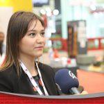 Reportage avec Mme Özge Hekim lors du salon d'expostion de la construction d'Istanbul