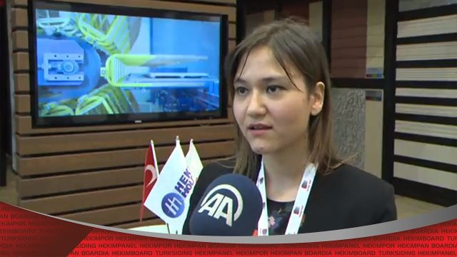 Hekim Yapı au 41ème salon d'exposition de la construction d'Istanbul