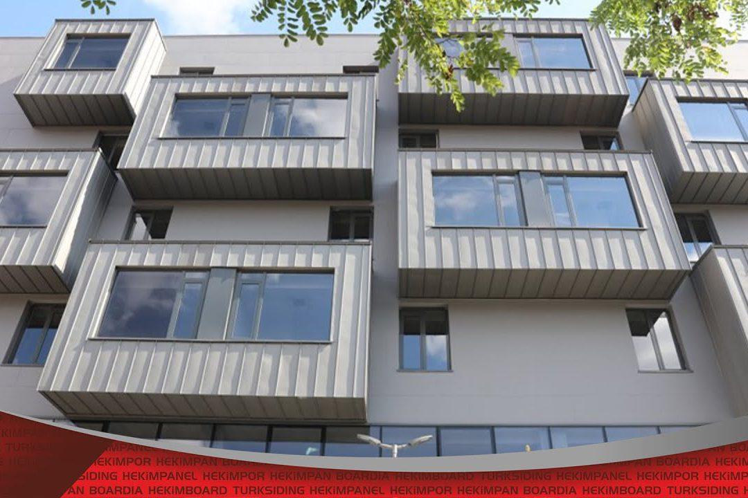 Point commun des bâtiments modernes et esthétiques |  Hekim Yapı