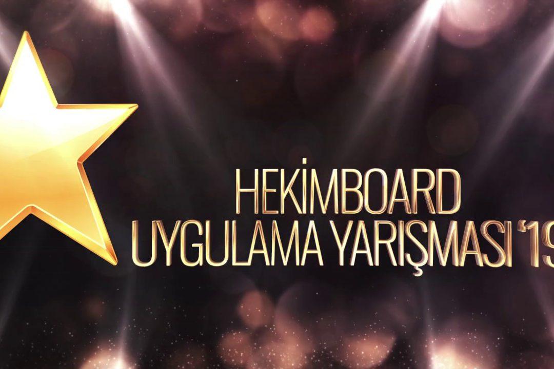 Concours d'application HekimBoard 2019  Hekim Yapı