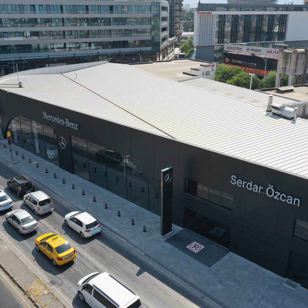 Projet Showroom Mercedes Bornova