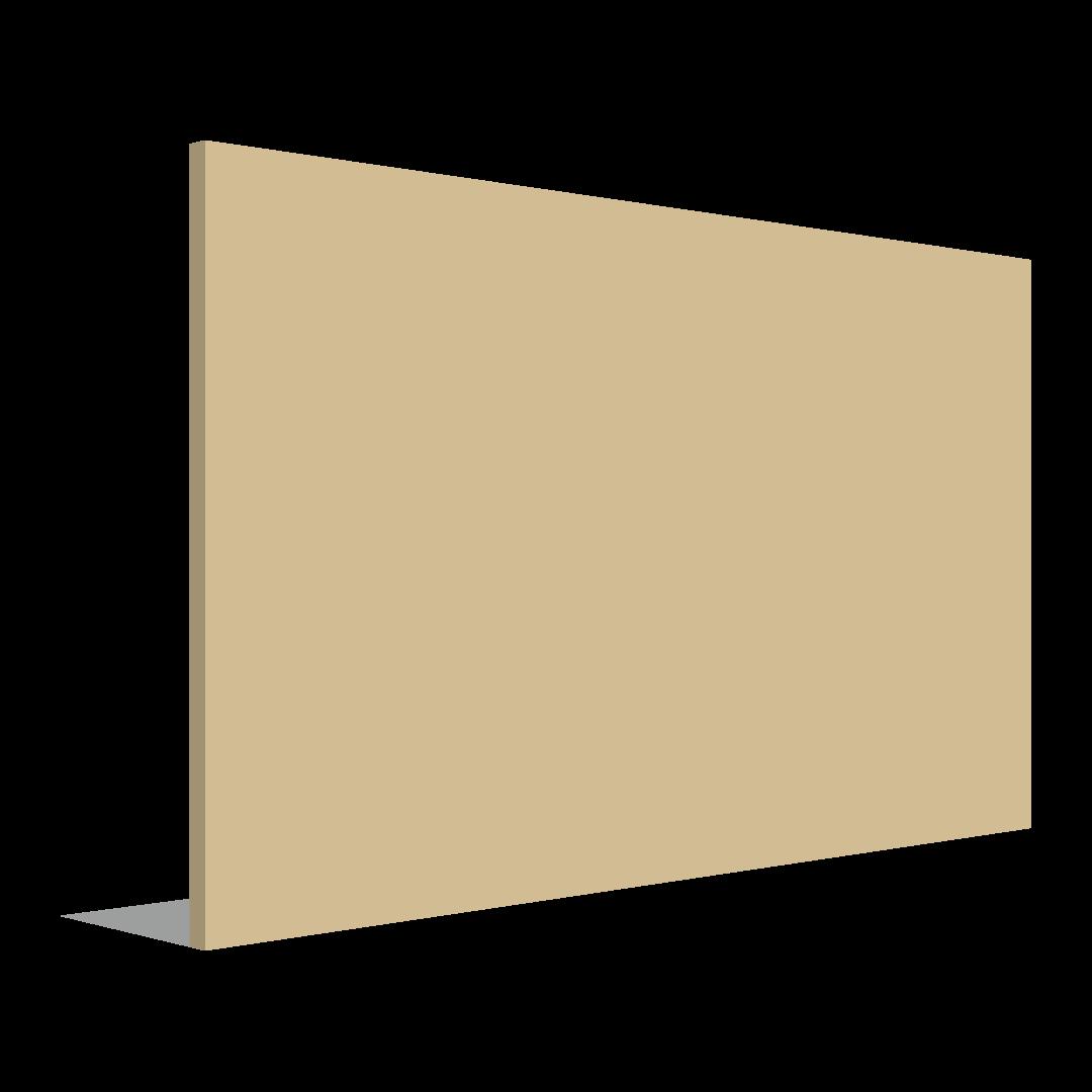 panneau extérieure plat