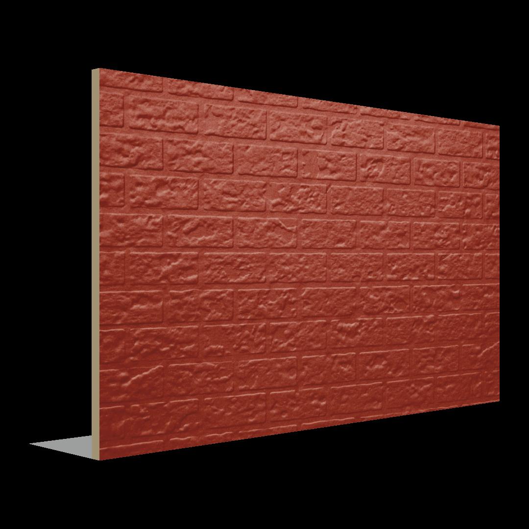 Panneau d'apparence excentrique de briques