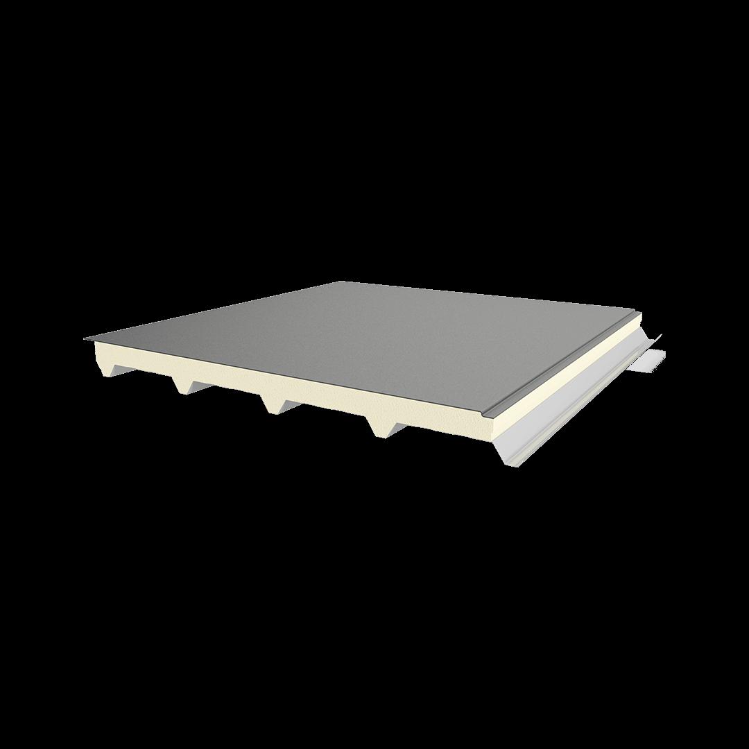 Panneau 5 côtes tôle-PIR-membrane