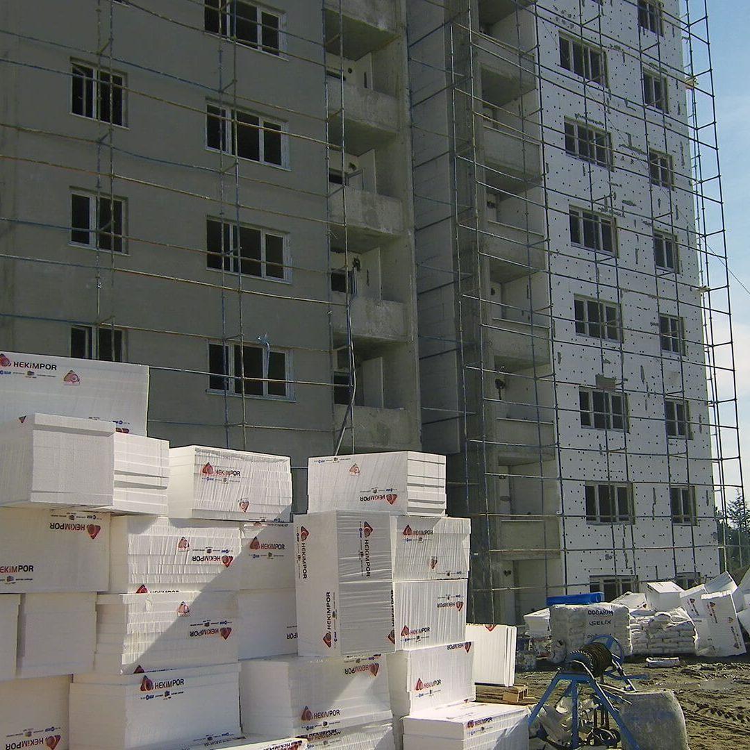 Panneaux isolants EPS