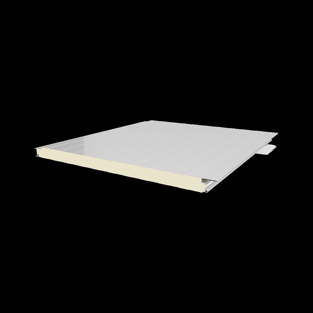 Panneau en feuille de polyuréthane à vis cachée