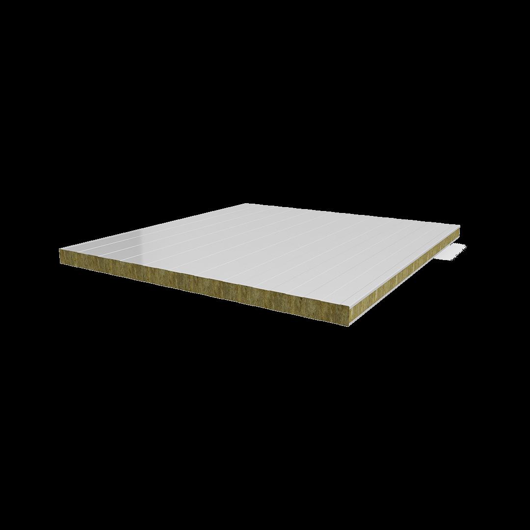 Panneau de tôle de laine de roche de type H