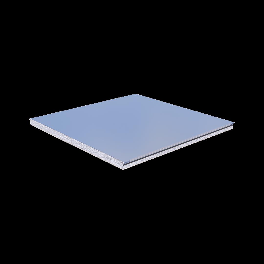 Panneau de type tôle-EPS-Fibercement de chambre froide