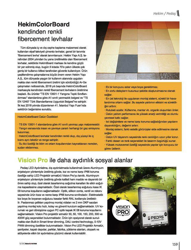 İnşaat Yatırım Magazine
