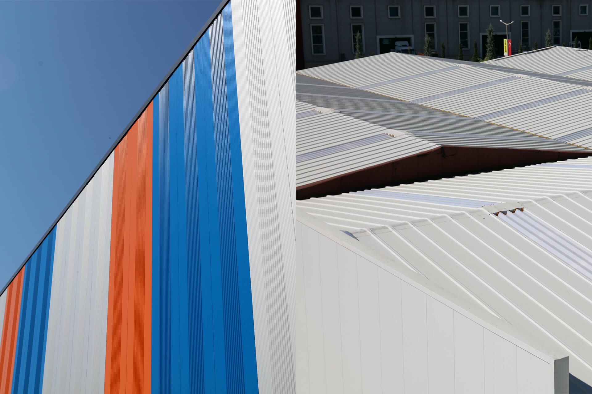 Panneaux de façade et de toit